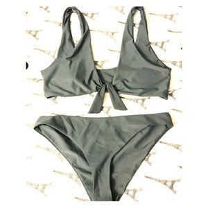 Zaful Bikini (green/Gray) medium